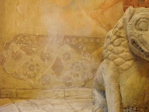 архитектурные элементы, настенная роспись, художественная роспись барельефы
