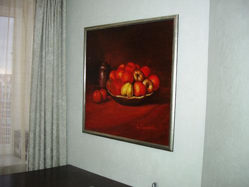Фрески, живопись, дизайн интерьера квартир, интерьеры квартир фото