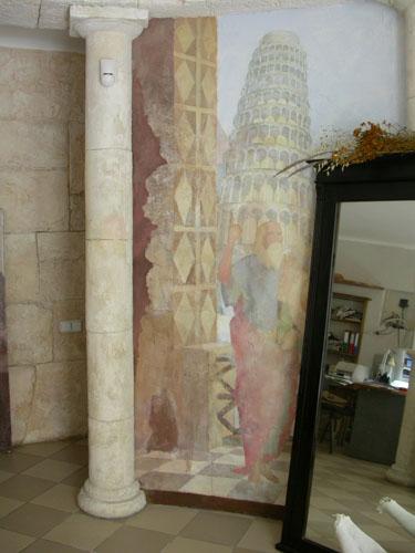 Фрески, живопись, роспись стен фресками , фрески фото, фрески на стену,