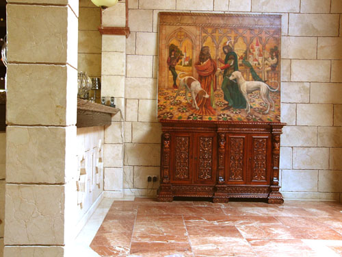 фрески на стену, реставрация фресок, изготовление фресок