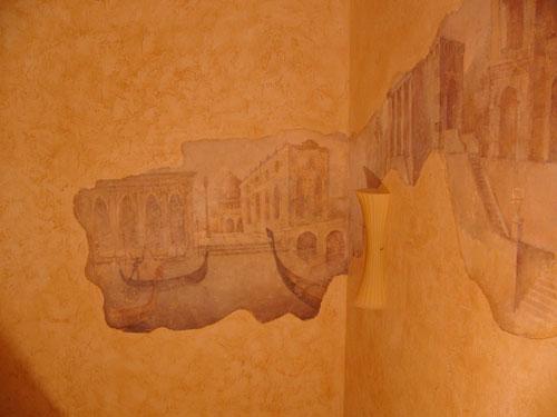 реставрация фресок, изготовление фресок, роспись стен