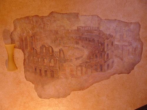 изготовление фресок, роспись стен, роспись интерьера