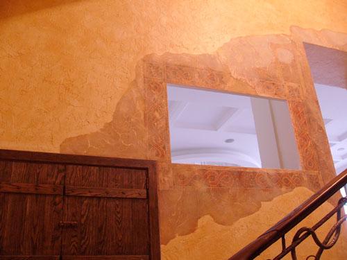 роспись стен, роспись интерьера, роспись потолков