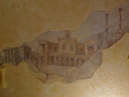 роспись интерьера, роспись потолков, настенная живопись