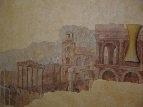 Фрески, живопись, роспись интерьера, роспись потолков