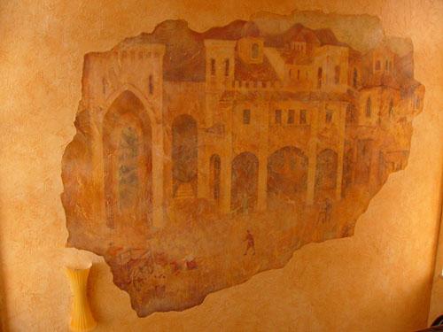 Фрески, живопись, роспись стен фресками , изготовление фресок