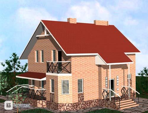 Проекти будинків приватних цегляних