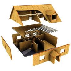 Каркасний будинок каркасно щитовой