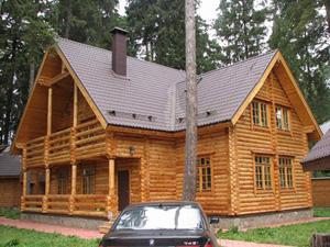 Строительство деревянного дома, деревянный дом