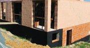 Гидроизоляционные материалы, гидроизоляция фундамента