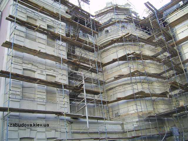 фасадные работы, ремонт фасада, утепление дома под ключ, киев