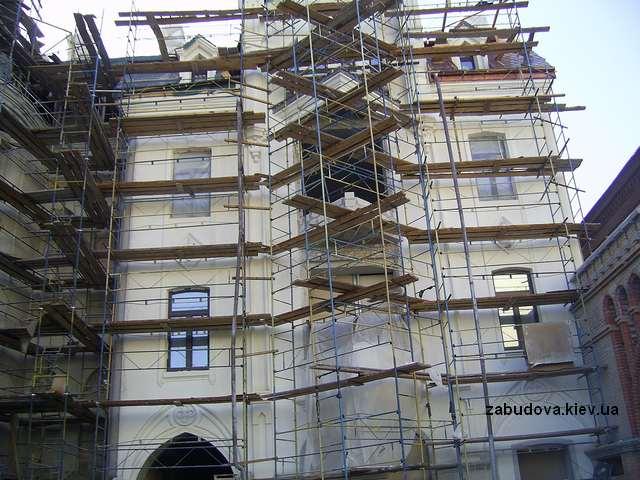 Фасадные работы, фасады зданий, реконструкция капитальный ремонт