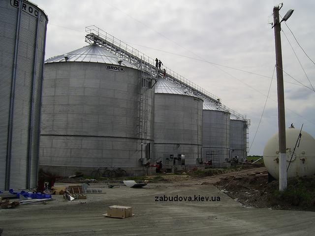 проэктирование зернохранилища