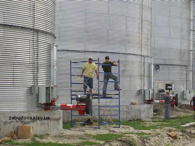 Сооружения для хранения зерна