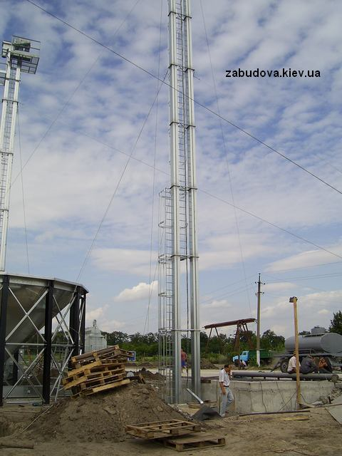 Строительство элеватора, зерносушилка, 20 000 тон
