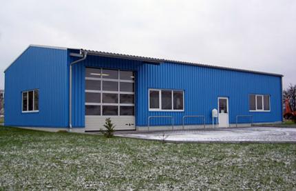 Строительство ангаров, складов, зернохранилищ