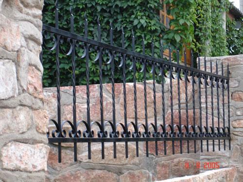 Кованый, металлический забор