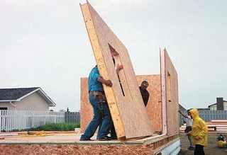 Каркасный дом по канадской технологии, строительство дома